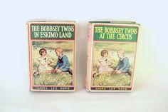 2 1930s Bobbsey Twins Books Vintage Childrens by LizzieTishVintage, $15.00