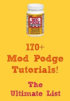 170+ Mod Podge Tutorials! The ULTIMATE list!.... Spray bottle scrapbook paper, Medium layer m.p. to surface/wood, dry, put paper down, m.p. on top. M.p. takes 20 min to dry, FL. Matte finish btr! paint object glossy.mBusy patterns work best.