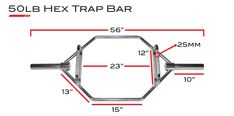 X Training Hexagon Trap Bar - Deadlift, Shrug, & Row Hex Bar - Equipment for CrossFit® Brand Training - Again Faster Hex Bar Deadlift, Trap Bar Deadlift, Barbell Deadlift, Commercial Gym Equipment, Crossfit Equipment, Home Workout Equipment, Squat Rack Diy, Crossfit Barbell, Homemade Gym Equipment