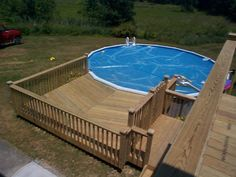 Above+Ground+Pool+Deck+Ideas | Decks and Porches |