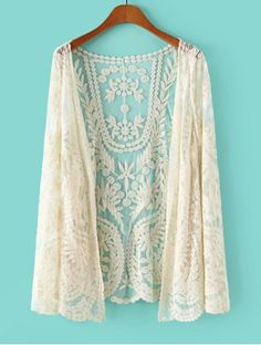 SHARE & Get it FREE   Stylish Lace Crochet Flower See-Through Long Sleeve Women's BlouseFor Fashion Lovers only:80,000+ Items • New Arrivals Daily • FREE SHIPPING Affordable Casual to Chic for Every Occasion Join RoseGal: Get YOUR $50 NOW!