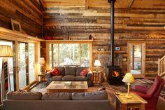 Cozy cabin great room