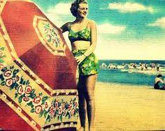Risultati immagini per vintage beach umbrella