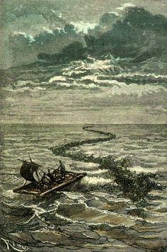 The Illustrated Jules Verne Voyage au centre de la Terre (1864) 56 illustrations by Édouard Riou