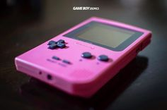 On instagram by gameboyzero #gameboy #microhobbit (o) http://ift.tt/2dBCgjK pinky. My newest Game Boy Pocket from the Tamagotchi limited edition release. . . . pocket  #nintendo #retro #retrogaming #nintendocollection