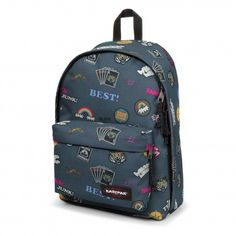 f7fc8226838 Eastpak Out Of Office rugzak all patched