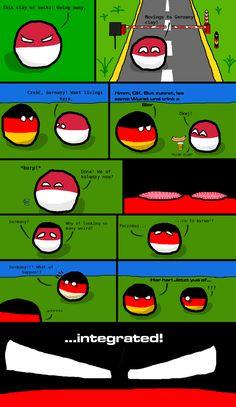 Integration ( Germany , Poland ) #polandball