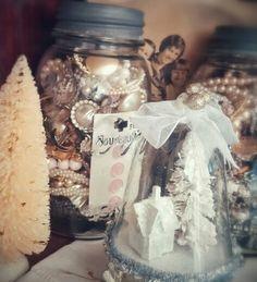 White Christmas, Vintage Charm, Old Jewelry... Photo by Julie Cruzan