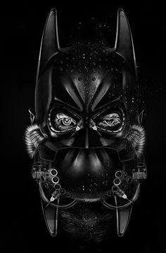 FANTASMAGORIK® BAT COMICS FACES by obery nicolas, via Behance