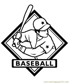 baseball coloring page 15 coloring page free printable coloring pages