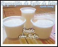 Saude com Kefir: Requeijão de kefir de leite Milk Protein, Kombucha, Glass Of Milk, Ale, Low Carb, Pudding, Cooking, Healthy, Breakfast