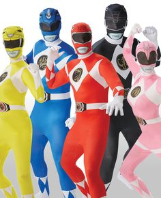 Go, go Power Rangers! This Power Rangers group costume makes a brilliant Halloween group costume or stag do group costume. Not to mention that these Power rangers morphsuits are super easy costumes that require absolutely no effort! Browse more group costume ideas on our blog.