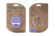 Cuppow Canning Jar Drinking Lid - Regular Mouth - Lavender