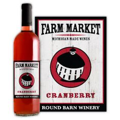 Farm Market Cranberry Wine