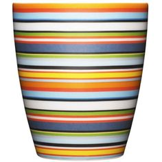 Make a bold statement with Iittala's cheery orange Origo Dinnerware Collection. Graced with chic stripes and warm colors, this porcelain dinnerware easily goes from the oven to the table and into the dishwasher for fast clean up. Orange Mugs, Orange Design, Porcelain Dinnerware, Bold Stripes, Glass Ceramic, Warm Colors, Accent Colors, Decorative Accessories, Tableware