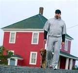 Image detail for -... Jesse Stone with faithful companion Reggie. CBS photo.  Reggie is a great actor.