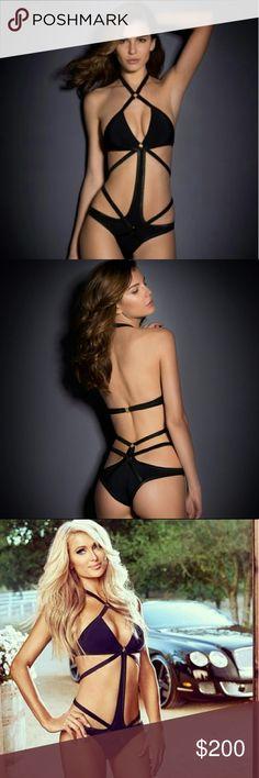 13903b9701 Agent Provocateur Black Shelby swimsuit Classic Agent Provocateur Shelby  swimsuit in black. A favorite amongst