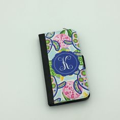 Monogrammed Wallet Case | Personalized Wallet Case | Monogrammed iPhone | Sorority  iPhone | iPhone 7 Case | Greek Letters by TheInspiredStudio on Etsy