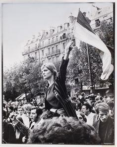 France. Paris, May, 1968