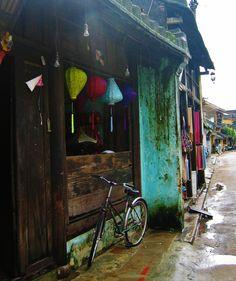 silk shop, Hanoi, Vietnam