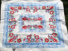Sharon's Antiques Vintage Fabrics - Vintage Kitchen Tablecloths 3