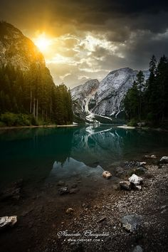 Photograph Lago Di Braies and Dolomites, northern Italy by Alexander Chernyakov on 500px