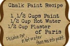 How To Chalk Paint Furniture - Bing Images