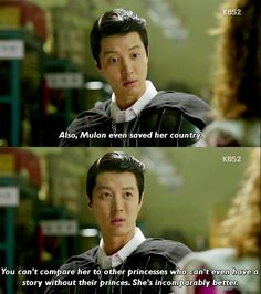Mulan is the BEST! (Marry Him if You Dare-- Kdrama)