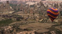 Ride a Hot Air Ballon in Cappadocia, Turkey