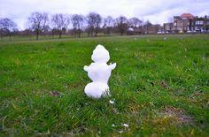 Traumzaubereien: Schneemann ohne Schnee - so geht's
