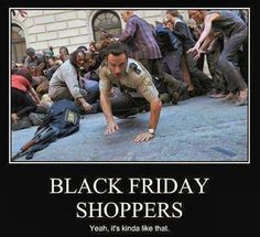 The walking dead Black Friday