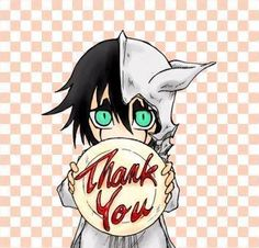 Ulquiorra cute | ulquiorra cute picture of ulquiorra saying thank you