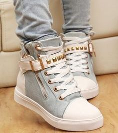 Department Name: Adult Item Type: Sneakers Shoe Width: Medium(B,M) Feature: Breathable Upper Height: High Season: Spring/Autumn Closure Type: Zip Upper Material: Canvas Insole Material: Rubber Pattern