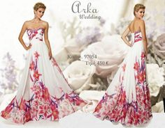 4ff3fc071be7 Βραδινό Φόρεμα Κωδ. 97054 αέρινο chiffon με λουλούδια και κέντημα Πληροφορ.  Τηλεφ. 210