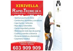 Cerrajeros Xirivella 603 932 932