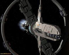 JSS Hannibal - Jovian Confederation Alexander-class Destroyer - Jovian Chronicles - Dreampod 9 - 3D Model by FRITZwork.de