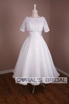 Google Image Result for http://www.coralsbridal.com/2895-7379-large/ms136f-custom-made-tea-length-organza-wedding-dress.jpg