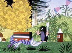 La Petite Taupe (Krtek) film d'animation riche en couleurs et en illustrations délicates