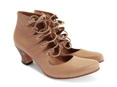 Trashy Diva | Fluevog Kilimanjaro Brown Leather Lace Up Ankle Boots