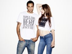 Lizzy and Jake for Casson London Unisex, London, Crop Tops, T Shirt, Collection, Women, Fashion, Supreme T Shirt, Moda