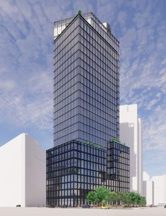 Renderings Revealed For SHoP Architects-Designed Skyscraper at 2 Hudson Square, in Lower Manhattan - New York YIMBY Manhattan New York, Lower Manhattan, Architect House, Architect Design, Construction Finance, Shop Architects, Building Development, Mix Use Building, Vintage New York