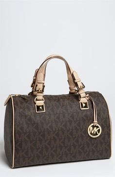 MICHAEL Michael Kors Grayson Logo Satchel, Large available at #Nordstrom