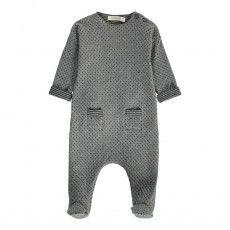 Tai Polka Dot Pyjamas Heather grey
