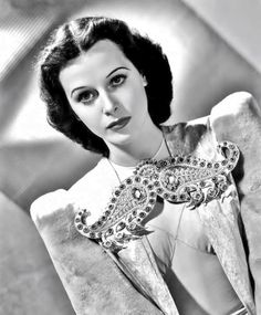 """Hedy Lamarr, publicity still for """"Lady of the Tropics"""", 1939."""