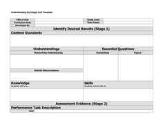 Understanding By Design Unit Template by gigi12 wwNkU35t