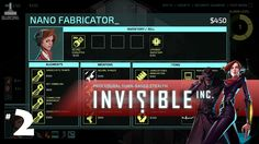Invisible Inc   #2   Neural Phaser