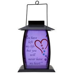 Forever In My Heart Solar Lantern : The Animal Rescue Site