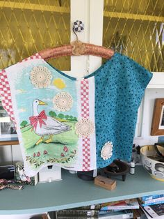 Tea Towels, Upcycle, Quilts, Blanket, Dish Towels, Comforters, Blankets, Upcycling, Kitchen Towels