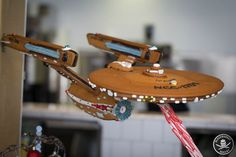 Star Trek - gingerbread enterprise