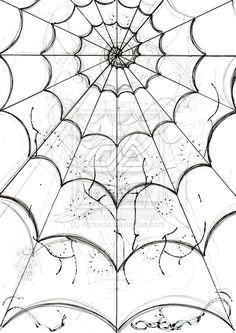 spider's web -sketch- by *dfmurcia on deviantART